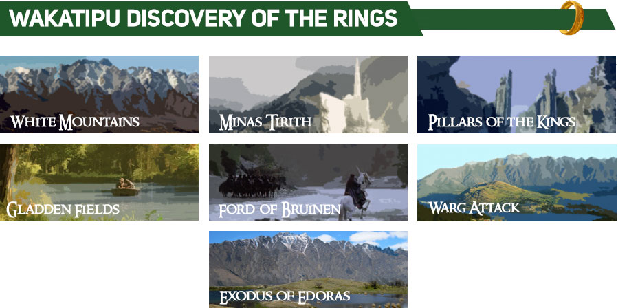 Lord of the Rings Tour - Wakatipu Discovery of the Rings Tour