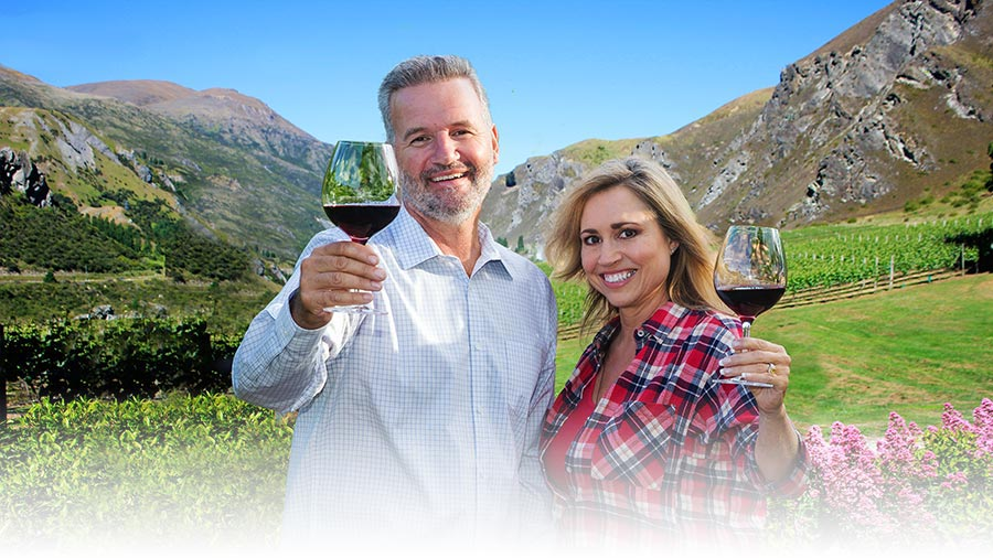 Wine Tour around Queenstown