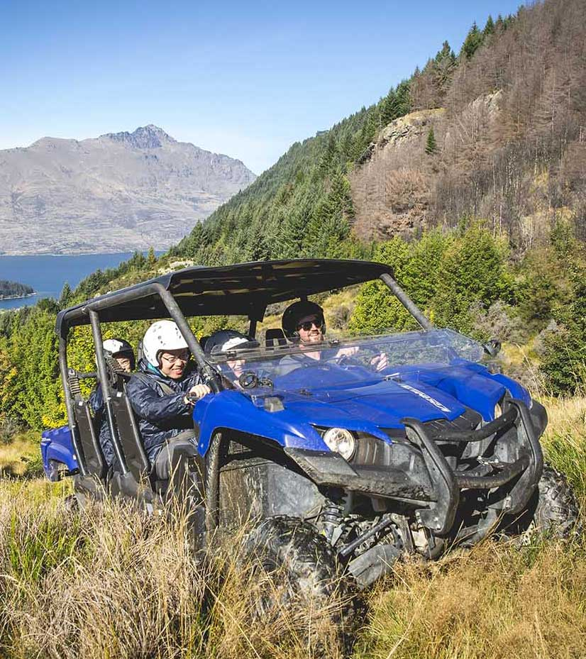 Queenstown's Ultimate Offroad Adventure - buggies and 4x4
